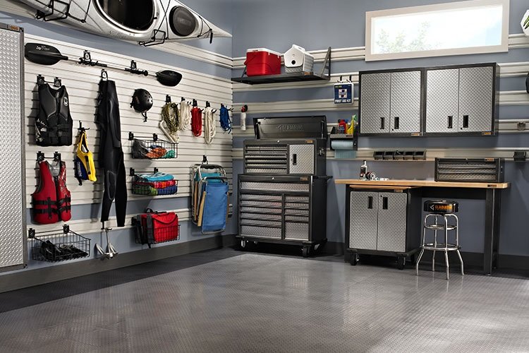Garage Wall Storage Systems New Home Designs From D Creators Com